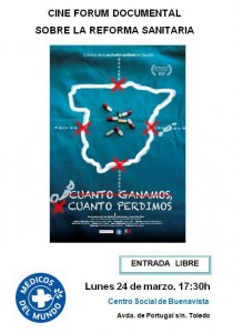 cartel documental reforma sanitaria jpg
