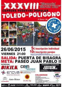cartel carrera to-poligono 2015