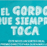 Pie de firma EL GORDO