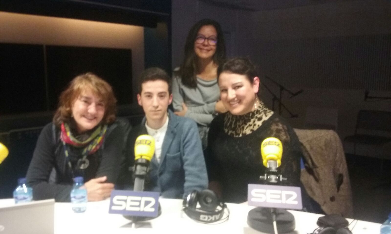 Inma Transgenero en la radio