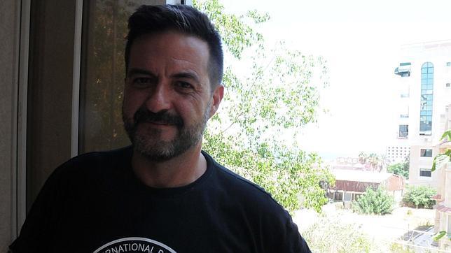 La foto es del periodista Mikel Ayestaran, que también ha trabajado en Gaza.