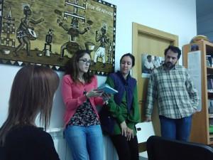 Sesión sobre derechos sexuales y reproductivos en Médicos del Mundo Navarra