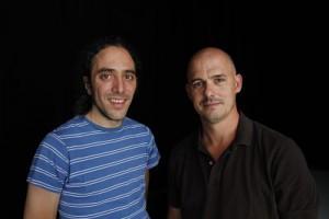 Los realizadores Jorge Fernandez Mayoral y Pablo Iraburu