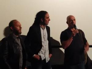 De izda a dcha: Pablo Tosco, Jorge Fdez. Mayoral y Pablo Iraburu