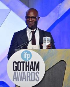 El director recogió tres estatuillas en los premiso Gotham: mejor película, reparto y guión.