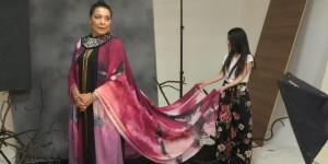 Carmina Martinez recibió el Premio Félix con este vestido inspirado en el pueblo wayú