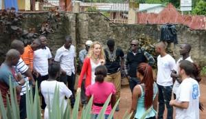 Dinámicas de grupo del equipo psicosocial en el distrito de Koinadugu