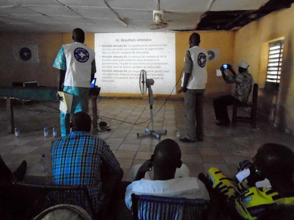 Apoyo al Fortalecimiento del Sistema de Salud del Distrito Sanitario de Bafoulabe, Región de Kayes, Malí