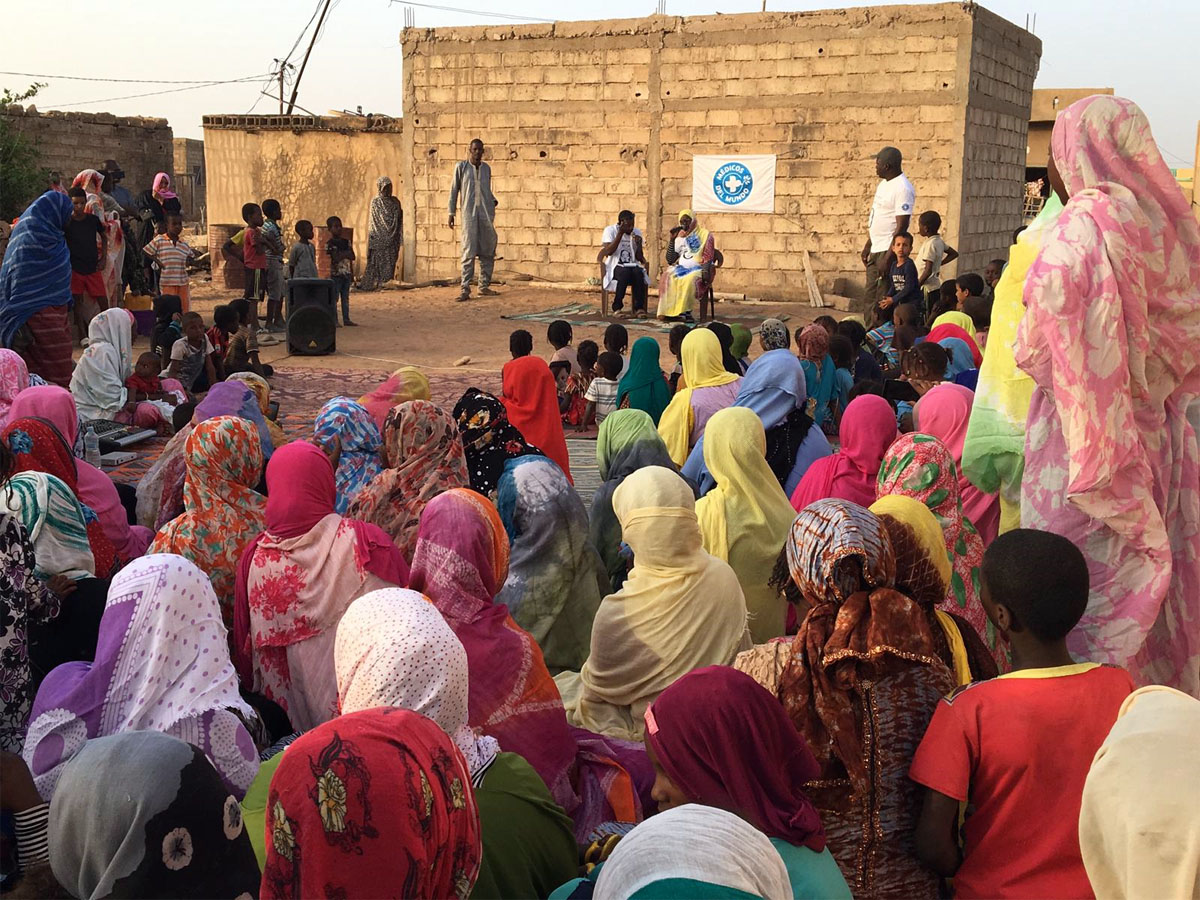 espectaculo teatral en el dia contra la MGF 16 de febrero