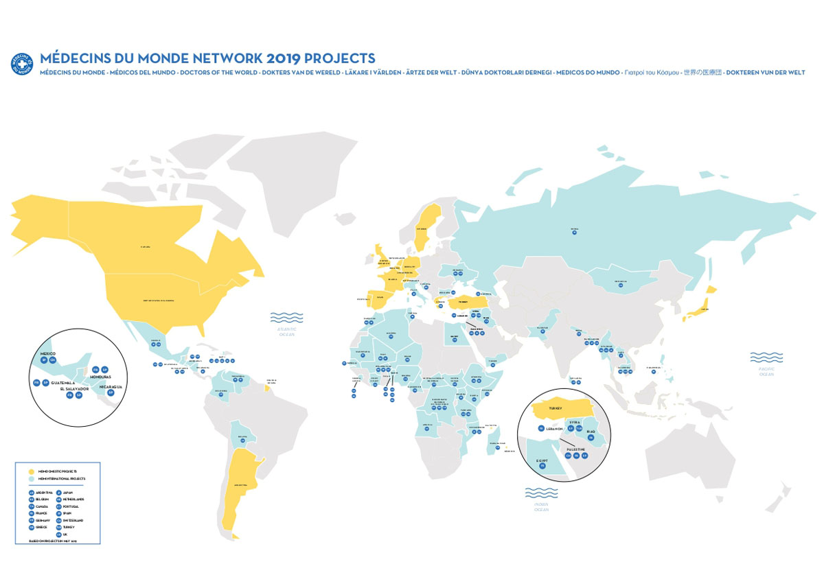 NETWORK PROJECTS 2019 MAP